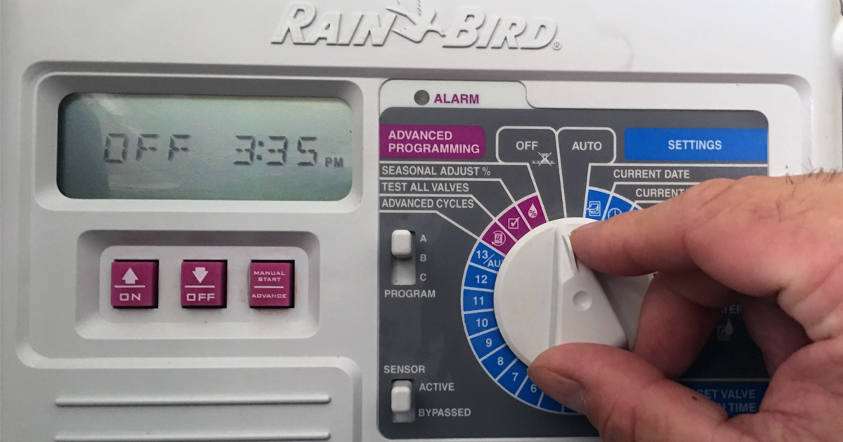 Spring Rains | Opportunity To Save On Your Water Bill