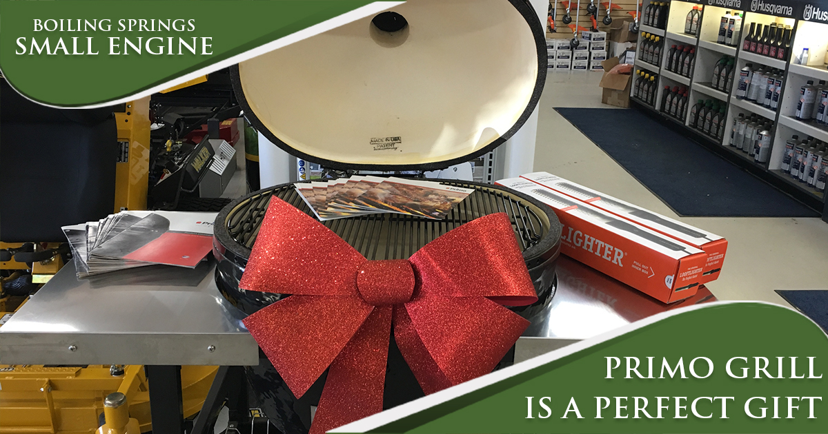Primo Grill is the Perfect Gift