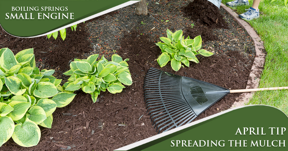 April Tip – Time to Mulch