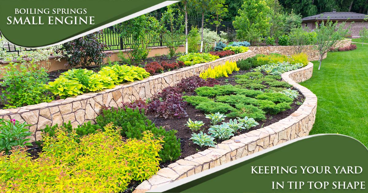 June Tip – Keeping Your Yard in Tip Top Shape