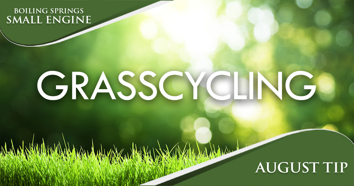 August Tip – Grasscycling