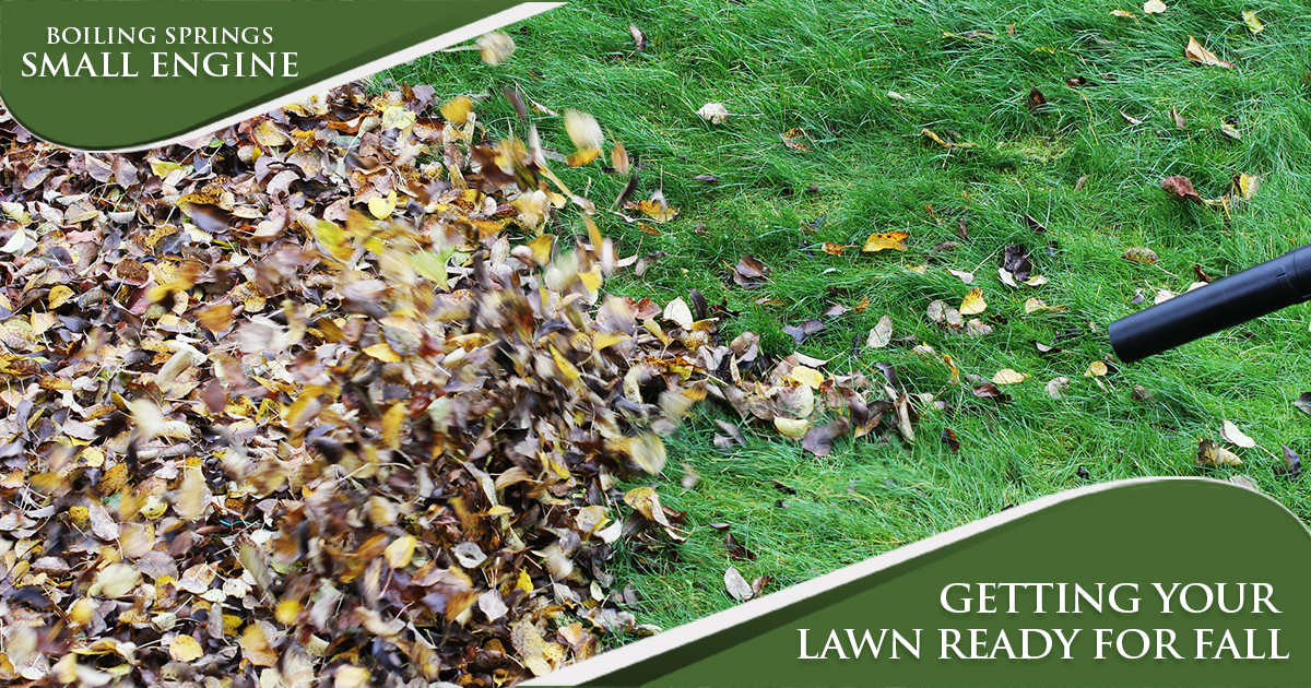 October Tip – Getting Your Lawn Ready For Fall