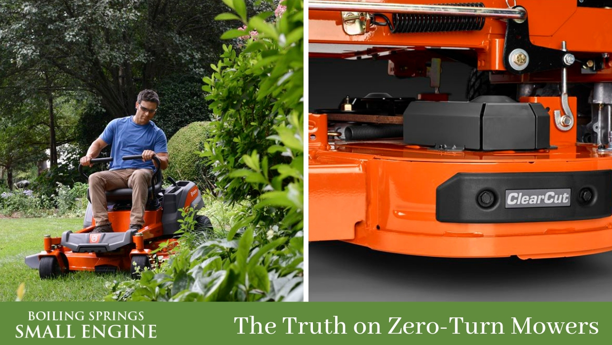 The Truth on Husqvarna Zero-Turn Mowers | Lawn Mower Sales and