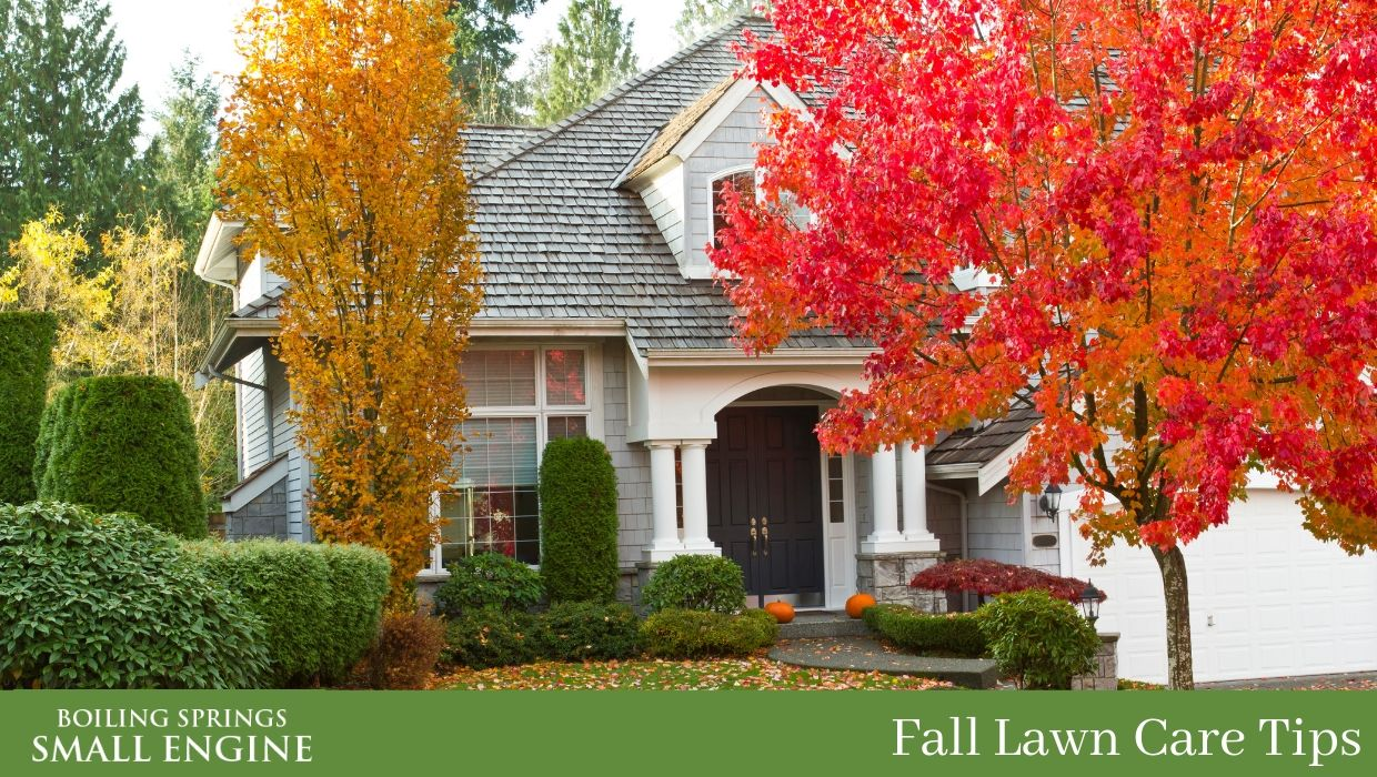Lawn Care for Fall