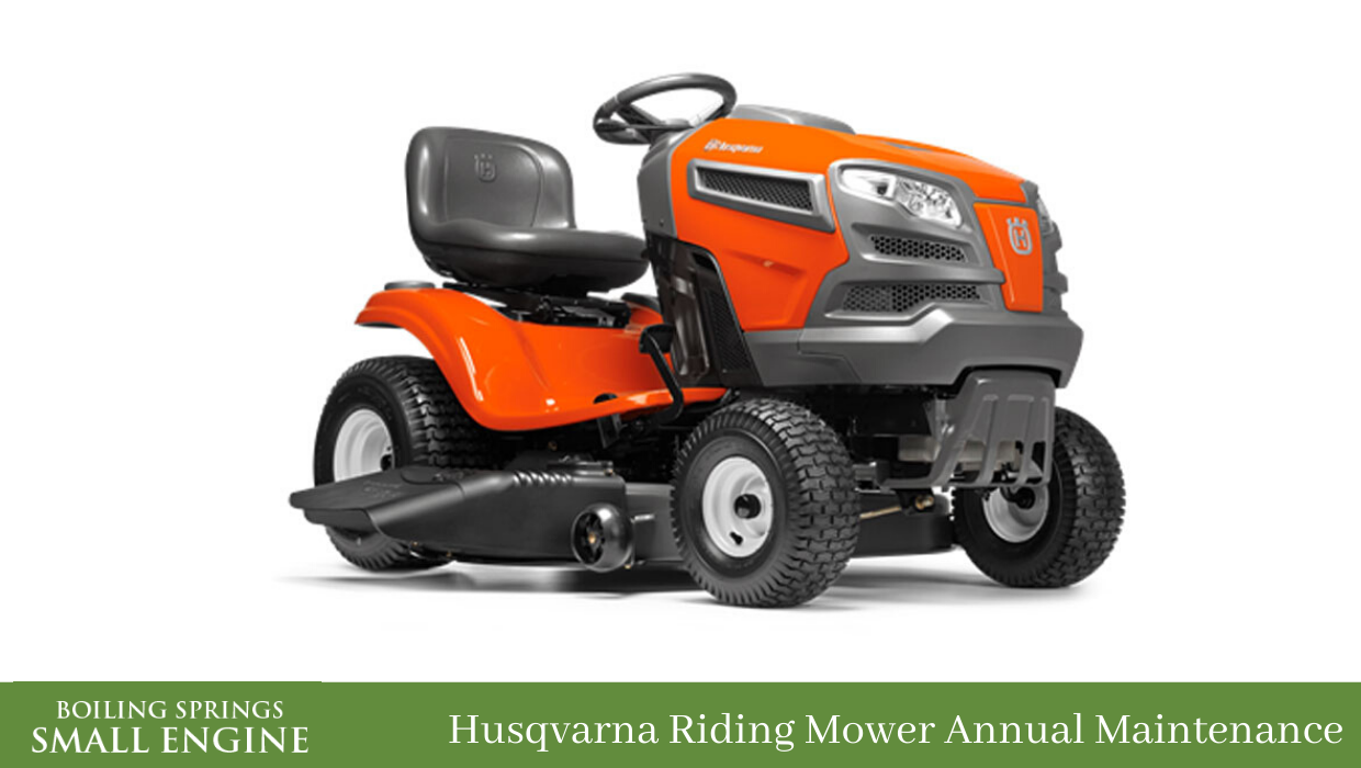 Husqvarna Riding Mower Annual Maintenance