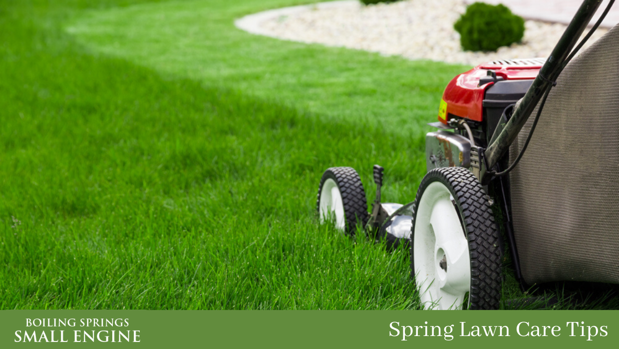 Spring Lawn Care Tips