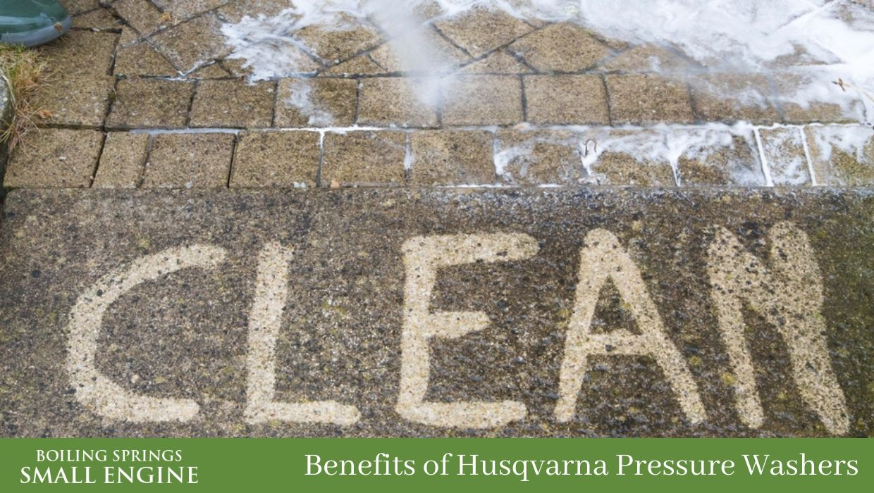 Benefits of a Husqvarna Pressure Washer