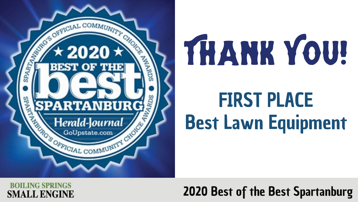 First Place Winner – Best Lawn Equipment